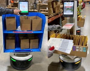 "Autonomous ""cobots"" support pick-to-carton and smaller each pick"