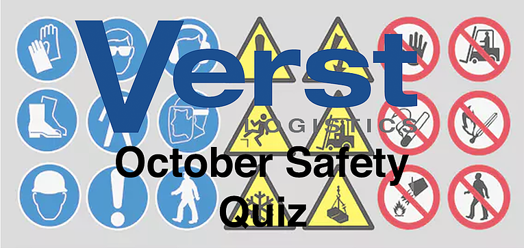 Four (4) Question October Safety Quiz