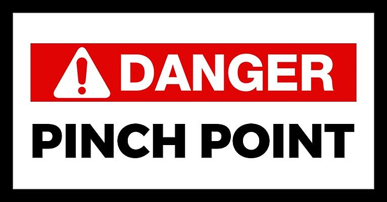 Safety Alert - Creating a Pinch Point