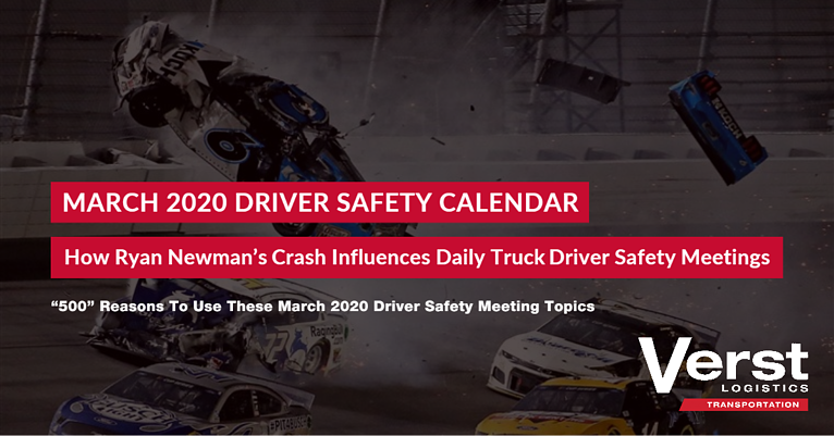 How Ryan Newman's Crash Influences Daily Truck Driver Safety Meetings