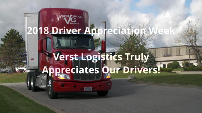 Verst Logistics to Celebrate National Truck Driver Appreciation Week