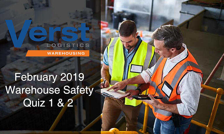 February 2019 Safety Quiz 1 & 2