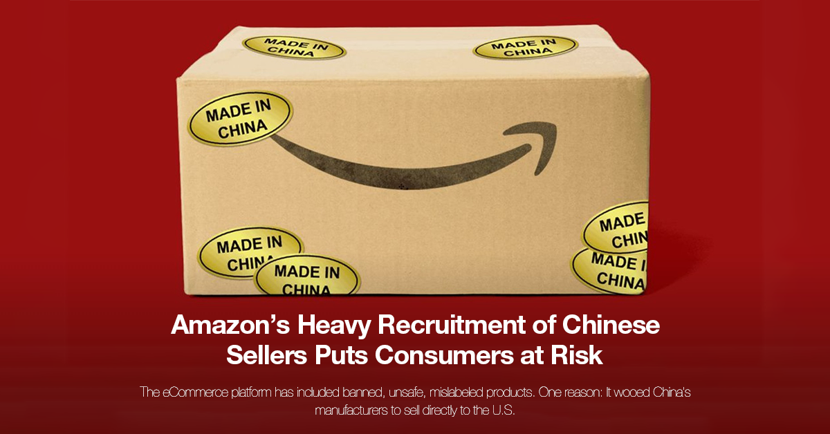 Amazon Chinese Sellers