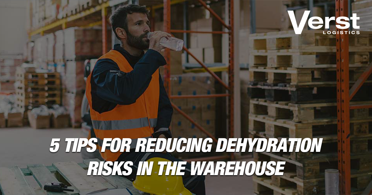 how to prevent dehydration of warehouse workers using safety guide & calendar & topics for meeting discussions